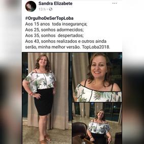 Sandra Elizabete, 43 anos