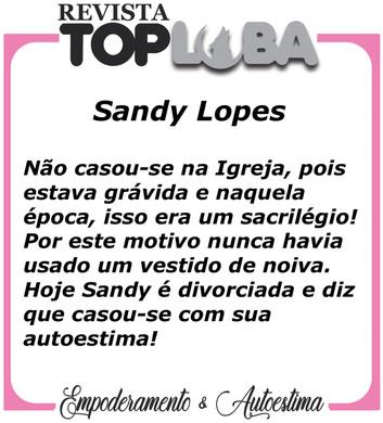 História - Sandy Lopes de São Paulo