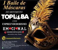 Baile de Máscaras Top Loba
