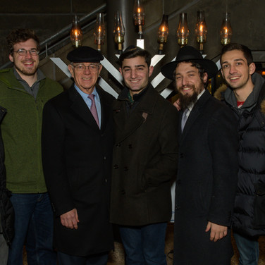 Chabad Menorah Lighting with President Reif 2017