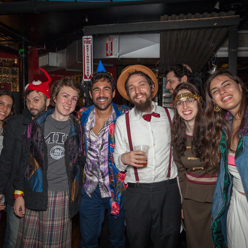 Purim Party at The Middle East