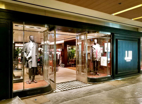New Alfred Dunhill store at The Paragon, Singapore