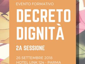Decreto Dignità - 2^ sessione