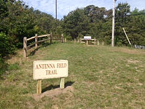 Antenna Field Trail Sign