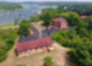 Chatham Marconi Maritime Center aerial view of buildings.