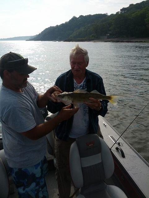 excursion de pêche guide