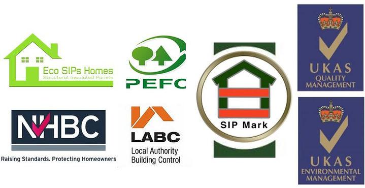 PEFC, ISO9001, ISO14001, NHBC, LABC Approved