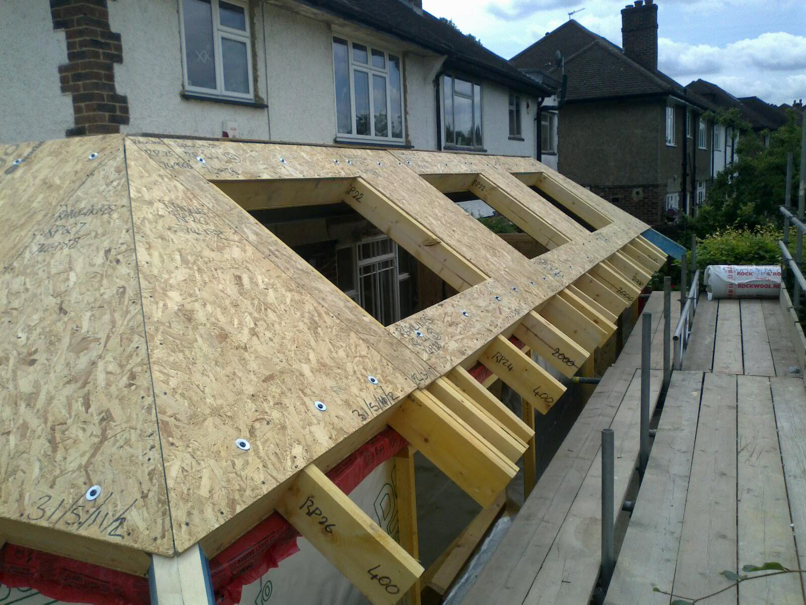 SIPs Extension with Velux openings