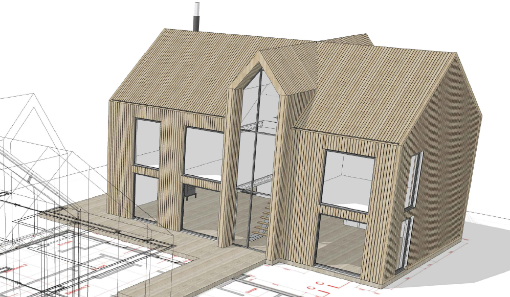 SIPs Passive House Design