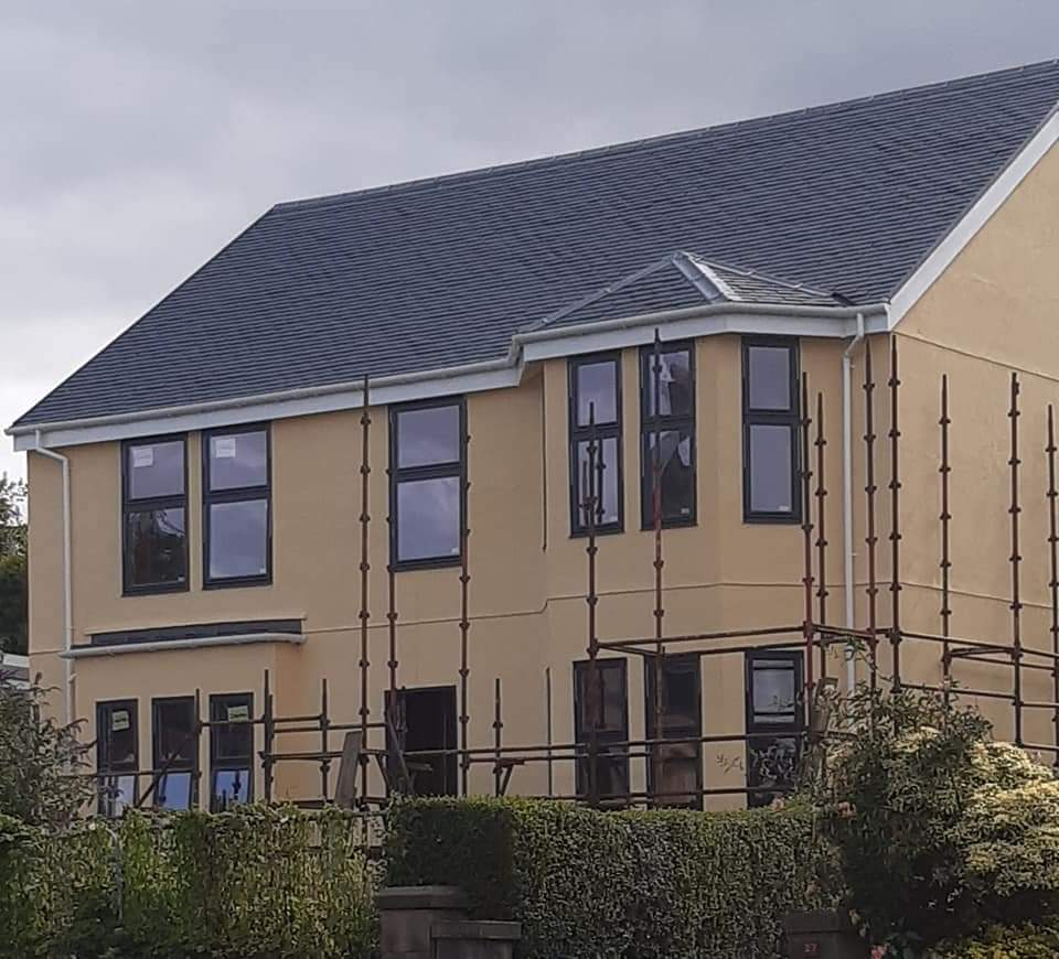 Finished House in Greenock
