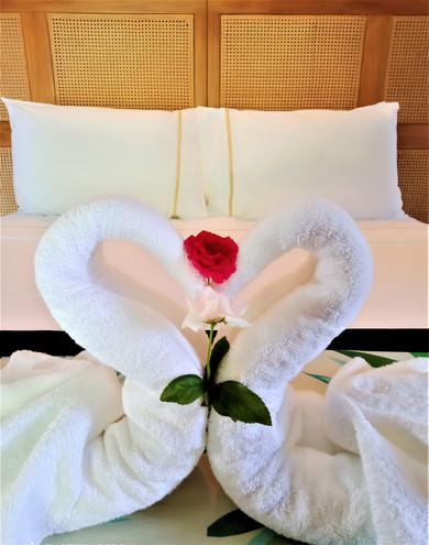 Swan Towels