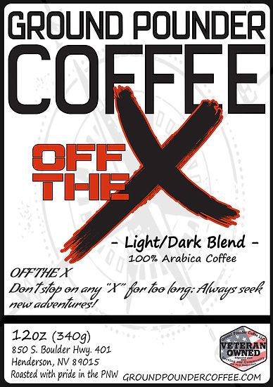 Off The X - Light and Dark Roast Blend