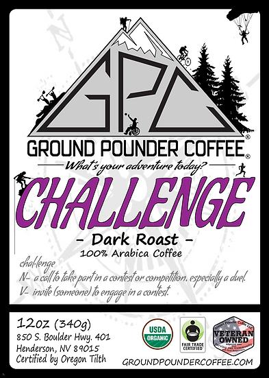 CHALLENGE - Dark Roast 12oz