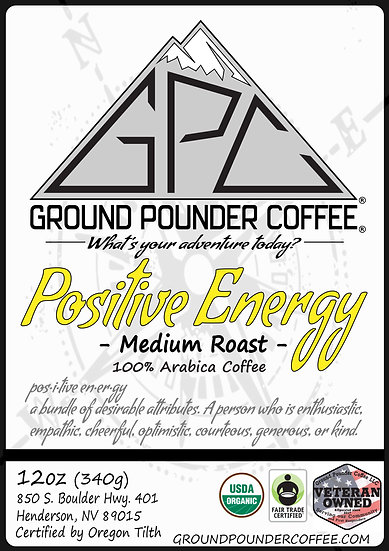 POSITIVE ENERGY - Medium Roast 12oz