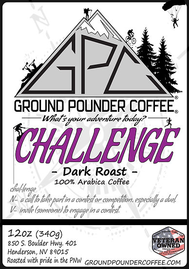 CHALLENGE - Dark Roast 12oz