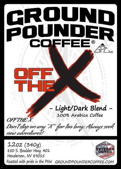 Off The X - Light and Dark Roast Blend