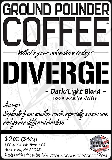 DIVERGE - 70% Dark 30% Light Roast