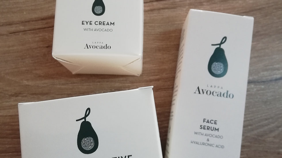 3 items kit for Face Care (Day cream for dry  skin)