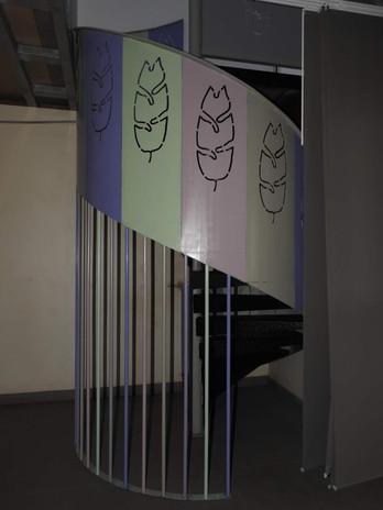Escalier décoratif