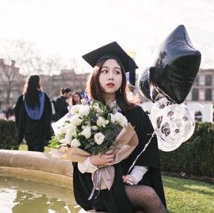 墨尔本毕业写真
