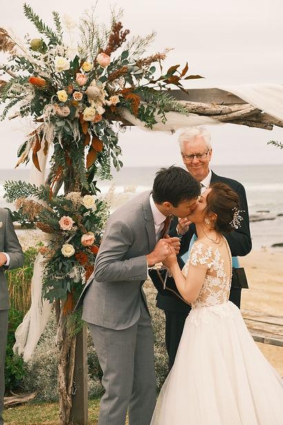 墨尔本婚礼跟拍 墨尔本海边婚礼