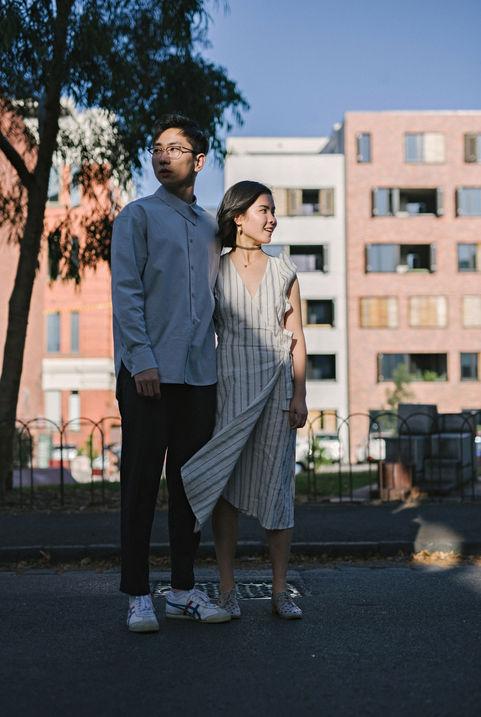 墨尔本情侣写真 | 日系胶片 | 墨尔本约拍 | 旅拍 |  東拾映画 墨尔本最有温度的摄影工作室