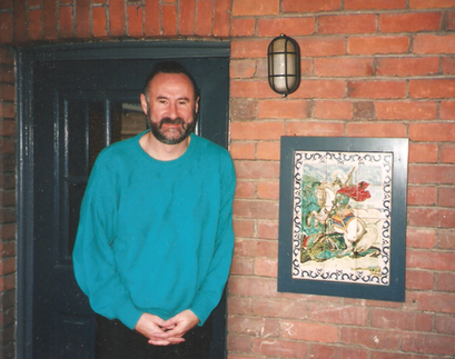 TBT: Jordi & Jordi –a younger Lovell with St. George guarding the door