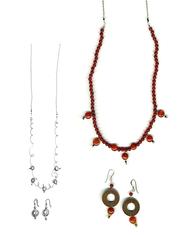 Carnelian & Black Tourmaline Jewellery