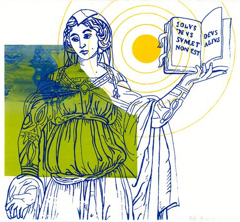 Sybilla Phyrigia, Siena – Serigraph