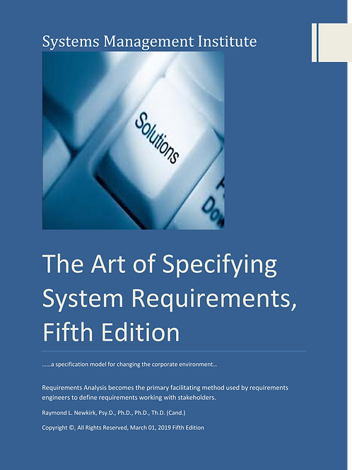 The Art of Specifying System Requirements, Fifth Edition
