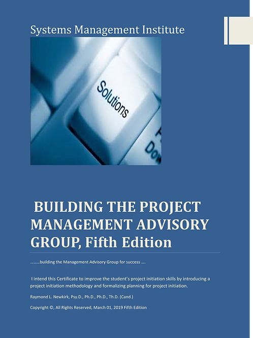 Building the Project Management Advisory Group, Fifth Edition
