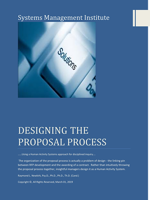 Designing the Proposal Process