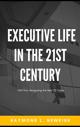 Cover Executive Life in the 21st Century