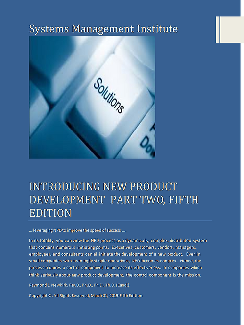 Introducing New Product Development Part Twp