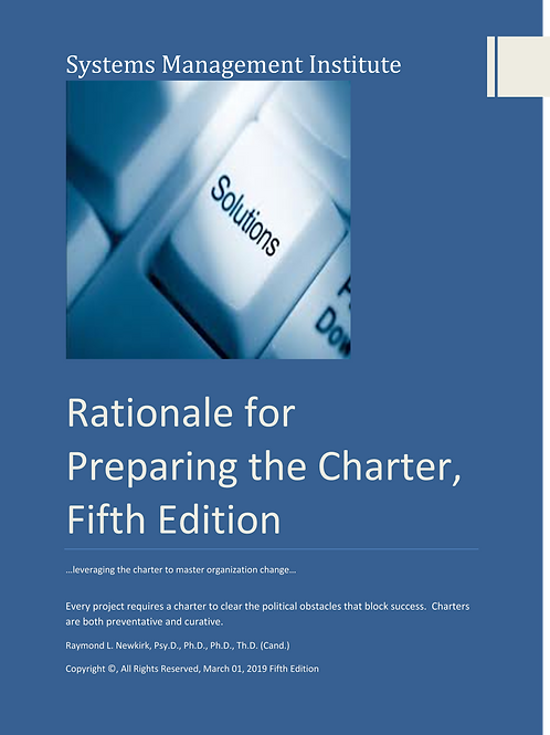 Rationale for Preparing the Charter, Fifth Edition