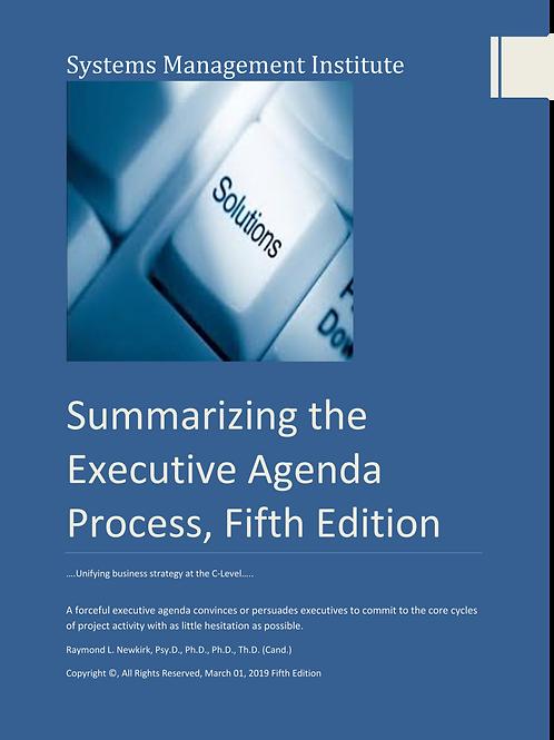 Summarizing the Executive Agenda Process, Fifth Edition