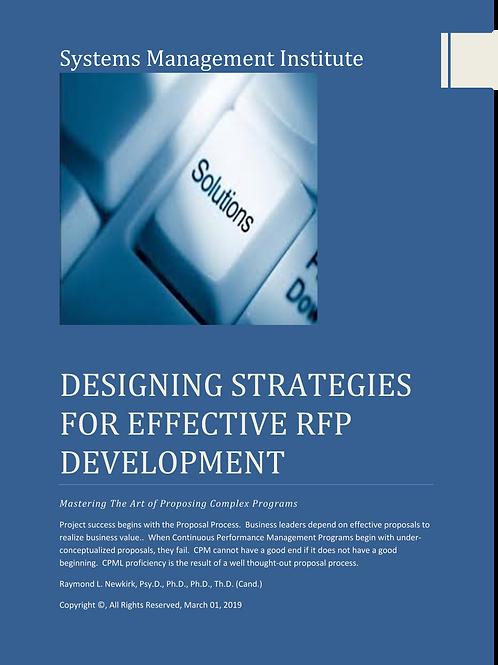 Designing Strategies for Effective RFP Development