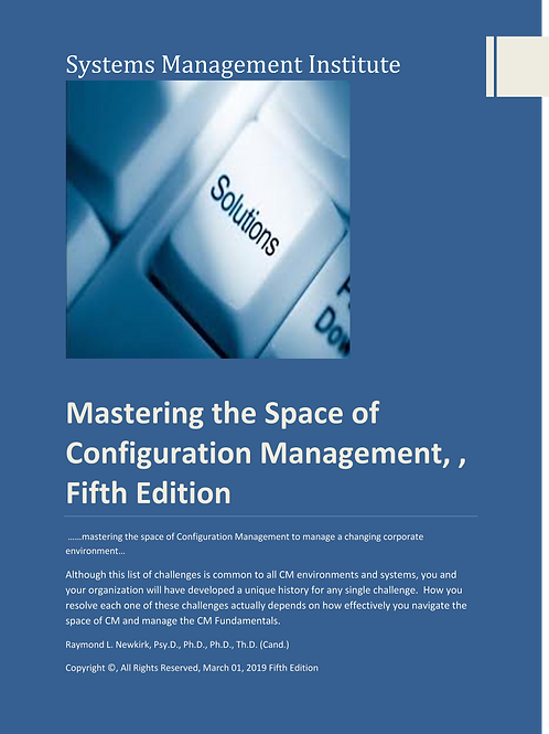 Mastering the Space of Configuration Management, Fifth Edition