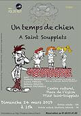 UN TEMPS DE CHIEN - Affiche St Soupplet-