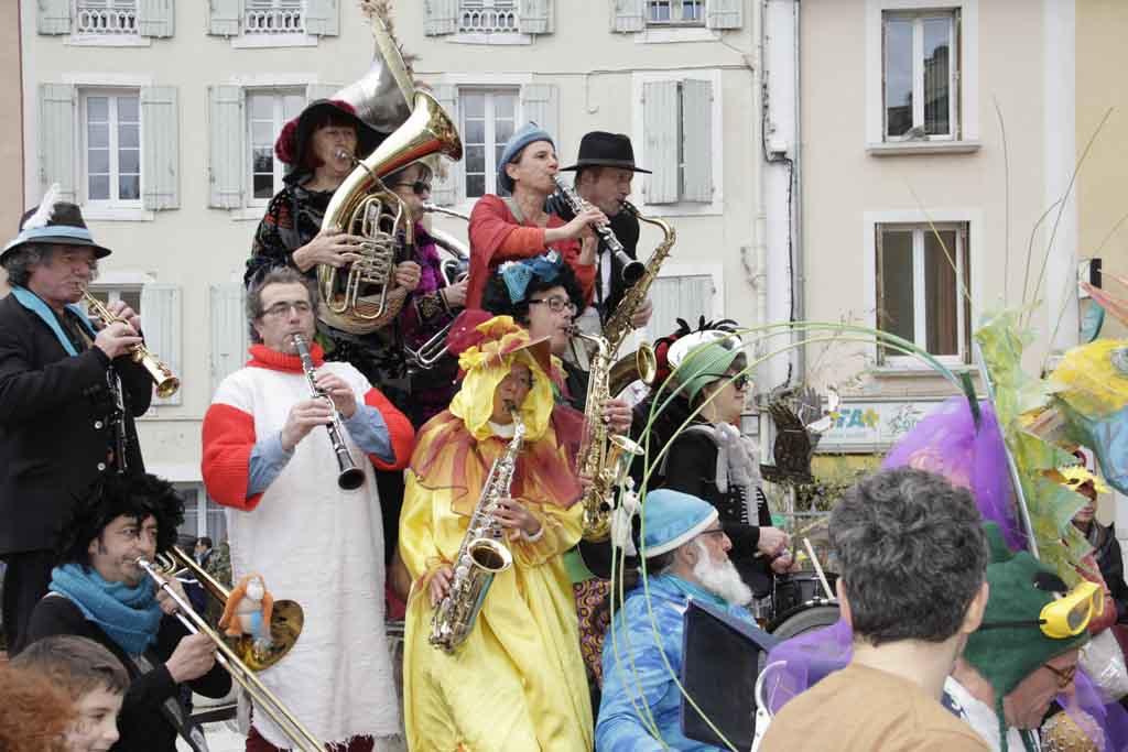 Carnaval à Dieulefit (mars 2018)