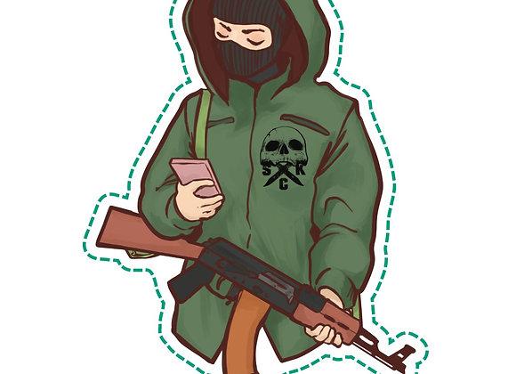Militant GF Slap