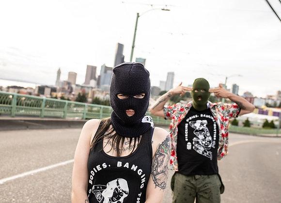STACKING BODIES, BANGING THOTTIES T-shirt