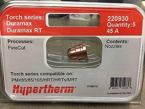 Nozzle 30-45A Fine cut 5 pack part# 22930
