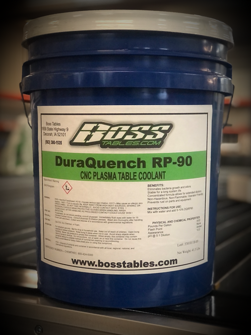 Dura Quench RP-90 Table Coolant 5gal.  Additional Pricing in Description