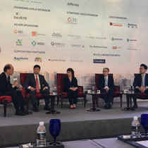 The panel was moderated by Frank Kung, Managing Partner, Vivo Capital.