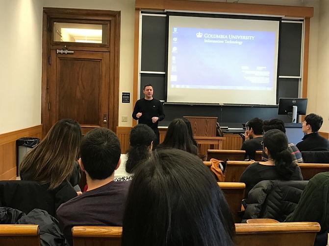 Brad Loncar Columbia University Class