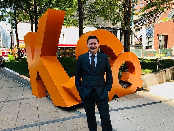 Brad Loncar at Kendall Square