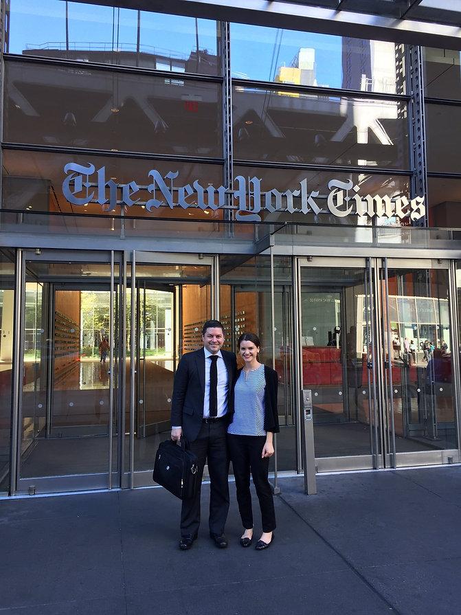 Brad Loncar NY Times