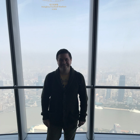 Shanghai Tower observation deck