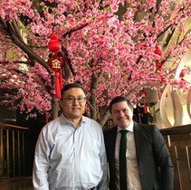 I worked with Jim Mao during my first job out of college at Franklin Templeton Investments in Fort Lauderdale. He lives in Shanghai now and we hadn't seen each other in 17 years!